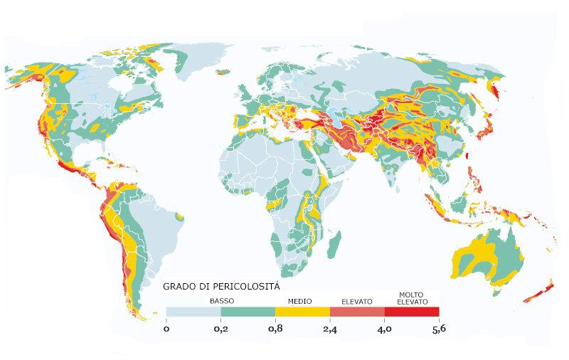 Prevenzione rischio sismico housingest network srl for Rischio sismico in italia